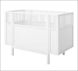 LIFETIME Babybett Retro mit stabilem Herausfallschutz