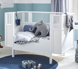 LIFETIME Babybett Retro optional mit Umbauset