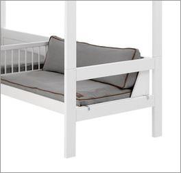 LIFETIME Bett & Sofa Ferienhaus inklusive Sitzpolster