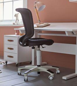 LIFETIME Bürostuhl Wave mit Kunststoff-Rollen