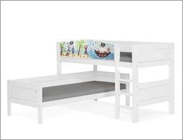 LIFETIME Eck-Etagenbett Pirat von LIFETIME fürs Kinderzimmer