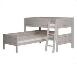 LIFETIME Eck-Etagenbett Original als Doppelschlafplatz für Kinder