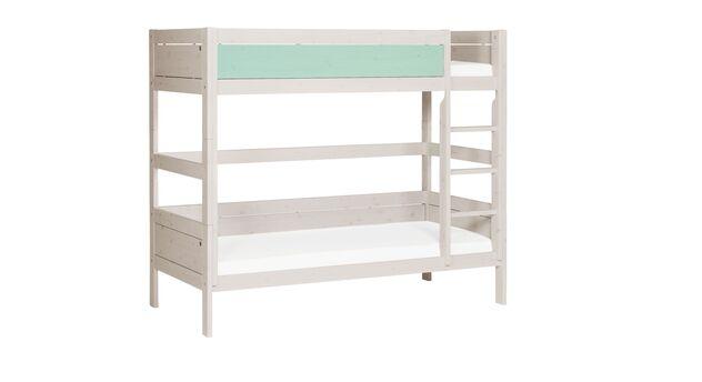 Modernes LIFETIME Etagenbett Color mit gerader Leiter