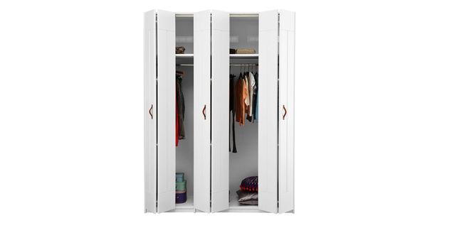 LIFETIME Falttüren-Kleiderschrank Monino inklusive Türen mit Soft-Close