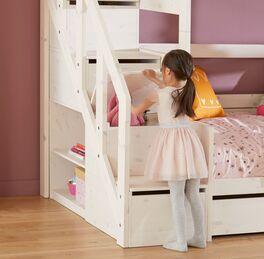 LIFETIME Familienbett Original mit Treppenmodul und praktischem Stauraum