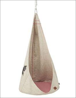 LIFETIME Hängesessel Camping aus reiner Baumwolle