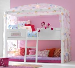 lifetime kiefer himmelbett f r kinder mit baldachin little bird. Black Bedroom Furniture Sets. Home Design Ideas