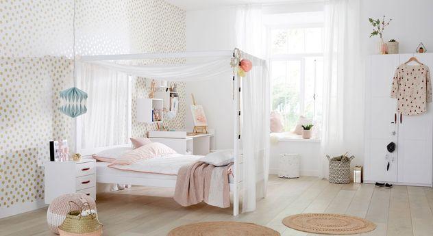 LIFETIME Himmelbett Original mit passenden Schlafzimmermöbeln