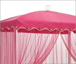 LIFETIME Himmelbett Wunderlannd inklusive dekorativem Vorhang