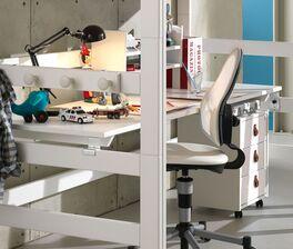 Einfache Montage der LIFETIME Hochbett-Schreibtischplatte