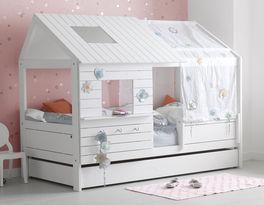 Modernes LIFETIME Hüttenbett Sternenglanz für Kinder