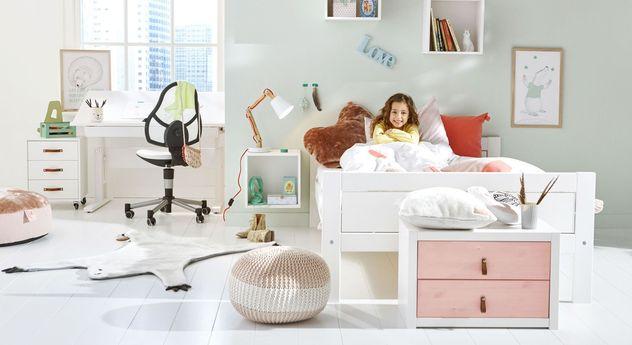 LIFETIME Jugendbett Original mit passenden Kinder-Möbeln