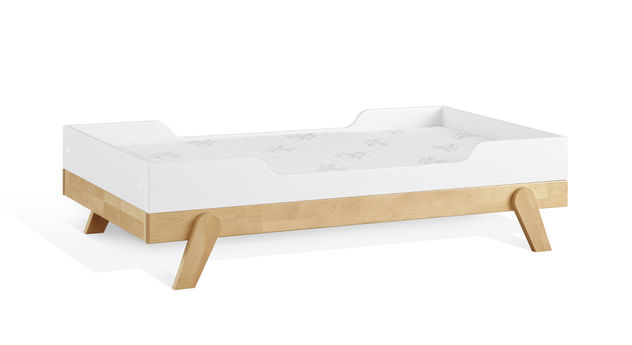 Modernes LIFETIME Juniorbett Monino in schlichter Farbgebung