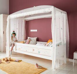 LIFETIME Kinder-Himmelbett Fairy Dust mit leichtem Vorhang