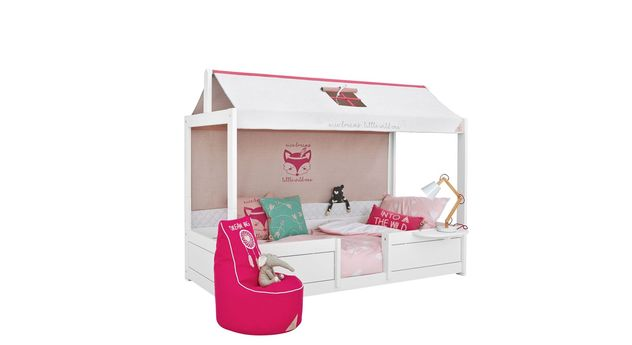 LIFETIME Kinderbett 4-in-1 Sioux mit passendem Zubehör für Kinderzimmer