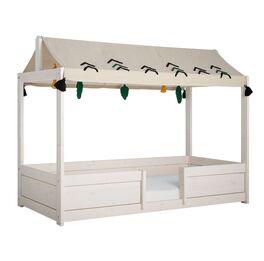 Umbaubares LIFETIME Kinderbett 4-in-1 Wild Life aus Echtholz