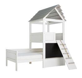 LIFETIME Kinderbett Play Tower mit Hütten-Aufsatz