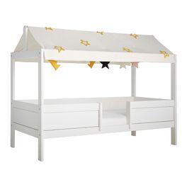 Umbaubares LIFETIME Kinderbett Princess Stars aus Echtholz