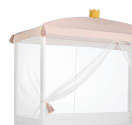 LIFETIME Kinder-Himmelbett Princess mit weißem leichten Vorhang
