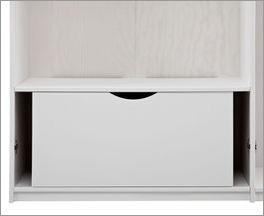 LIFETIME Kleiderschrank-Innenausstattung Schublade mit Griffmulde