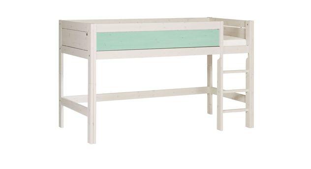 lifetime midi hochbett in versch farben inklusive leiter. Black Bedroom Furniture Sets. Home Design Ideas