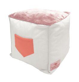 LIFETIME Sitzwürfel mit Tasche für Mädchenzimmer