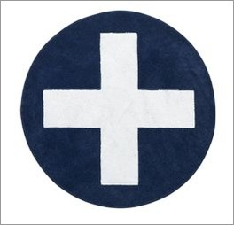 LIFETIME Teppich Kreuz bei 30 Grad waschbar