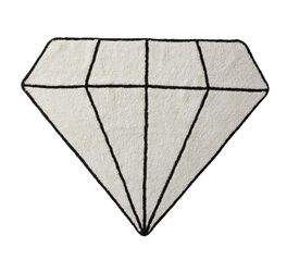LIFETIME Teppich Princess Diamonds als Deko für Mädchenzimmer