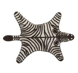 LIFETIME Teppiche Wild Life mit schwarz-weißem Zebra
