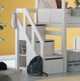 LIFETIME Treppenmodul mit Stauraum und 3 Boxen