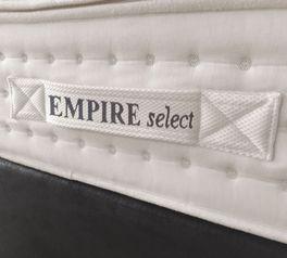 Matratzen-Wendeschlaufe mit EMPIRE select Logo