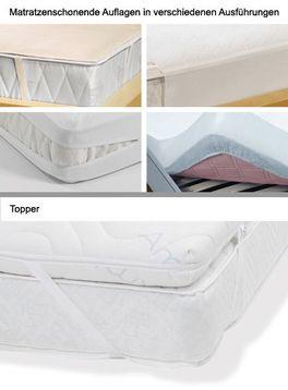 Matratzenauflagen und Topper im Vergleich