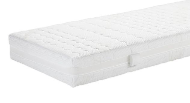Matratzenbezug Cashmere gefüllt mit atmungsaktiver Klimawatte