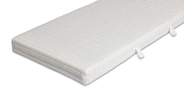 Matratzenbezug Doppeltuch mit Schafschurwoll-Füllung