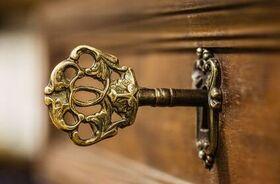 Messing Schlüssel