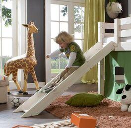 Mini-Hochbett Kids Paradise mit gerader Leiter