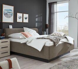 MUSTERRING Bett Epos mit Keder-Kopfteil und robustem Stoffbezug