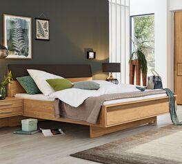 MUSTERRING Bett Samoa mit qursockel in robuster Bauweise