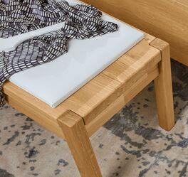 MUSTERRING Bettbank Savona mit bequemem Sitzkissen