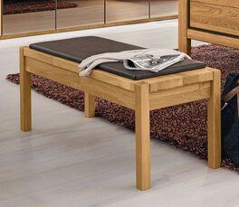 MUSTERRING Bettbank Sorrent aus robustem Echtholz