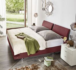 MUSTERRING Boxspringbett Evolution-Select optional mit Topper
