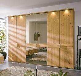 MUSTERRING Drehtüren-Kleiderschrank Savona 2.0 mit mittiger Spiegeltür