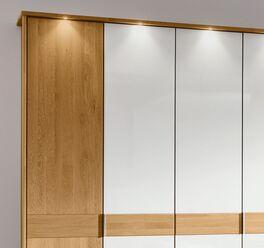 MUSTERRING Drehtüren-Kleiderschrank Savona Weiß im modernem Design