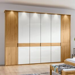 MUSTERRING Drehtüren-Kleiderschrank Savona Weiß in zeitlosem Design