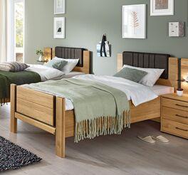MUSTERRING Komfort-Einzelbett Sorrent mit hohem Einstieg