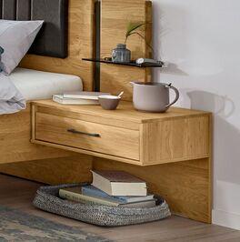 Moderner MUSTERRING Schwebe-Nachttisch mit Schublade