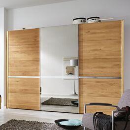 MUSTERRING Schwebetüren-Kleiderschrank Savona mit Spiegel in stilvoller Optik