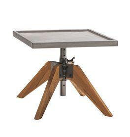 Nachttisch Antero mit Ablageplatte aus Echtbeton