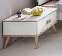 Stylischer Nachttisch Beano mit Knopf-Griff