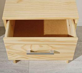 Nachttisch Bregenz mit geräumiger Schublade